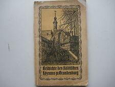 Brandenburg an der Havel Lyzeum Mädchengymnasium Mädchenschule St. Pauli Saldern