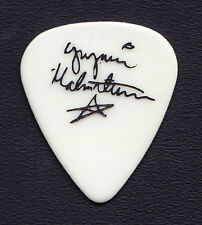 Yngwie Malmsteen Signature White Guitar Pick - 1980s Tours