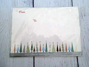 Christmas Present Holiday MAILING Labels Stickers - To/From - Self Adhesive