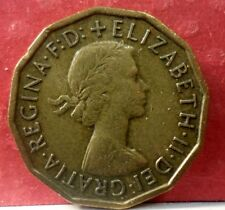 1960 Great Britain 3 Pence  KM# 900  A-181