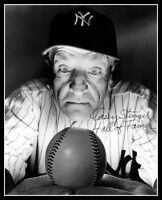Casey Stengel Autographed Repro Photo 8X10 - 1949 New York Yankees Crystal Ball