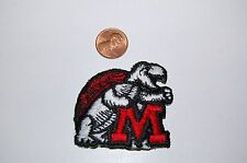 """Maryland Terrapins """"TERPS"""" 2 1/8"""" Logo Patch College"""
