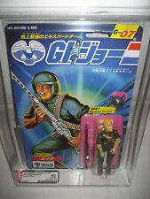 AFA 90 Hasbro GI Joe ROCK N ROLL Takara MOC action figure 1986 Japanese G.I. Joe