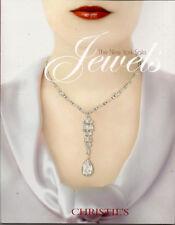 CHRISTIE'S JEWELS Cartier Schlumberger Tiffany JAR Auction Catalog 2009