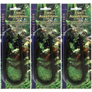 3 Stück Ausströmer Lüfterstein Flexi 30 cm Belüfterstein Aquarium Teich