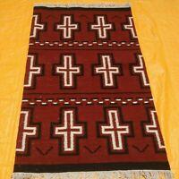 3' X 5' NAVAJO Navaho South American Wool RUG Kilim Flat Weave Oriental Area Rug