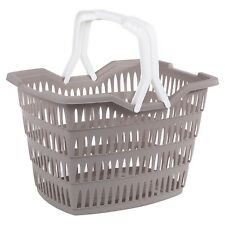 Picnic Basket Willy Laundry Washing With Carrying Handles Home Bathroom Park NEW