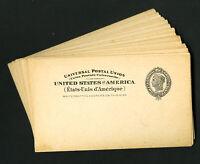 US Mint Stamp UX16 Postal Card Lot Of 34