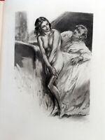 CURIOSA Les Luxures par ROLLINAT illustré LOBEL RICHE 1929 N° 128  SUITE   36
