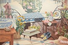 """Susan Rios Signed Serigraph Limited Edition """"Retreat"""""""