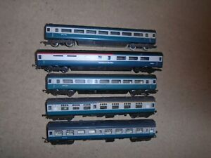 Collection of Inter-City Coaches for Hornby OO Gauge Train Sets