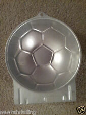 WILTON SOCCER BALL BABY BUMP Cake Pan Mold Tin Worldwide Shipping
