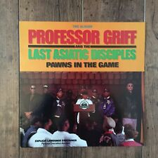 Professor Griff And The Last Asiatic Disciples – Pawns In The Game LP. UK 1990