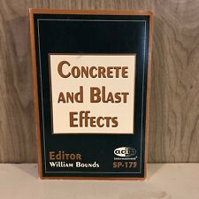 Concrete and Blast Effects SP-175 - American Concrete Institute William Bounds