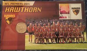PNC Australia 2014 Hawthorn Hawks AFL Premiers Numbered PNC Limited Edition