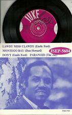 "S The JAR - Paranoid > Black Sabbath /EMILE FORD (2)/+1  SWEDEN 7"" EP (1970)"