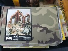 Verlinden Products Ruined Mansion 1:35 Scale WWII Military Model Kit Plaster