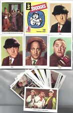 THREE STOOGES OFFICIAL 1959 FLEER REISSUE COMPLETE 25 CARD PROMO SET