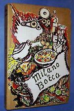 37302 M. Contini - Milano in bocca - ed. Il Vespro 1976