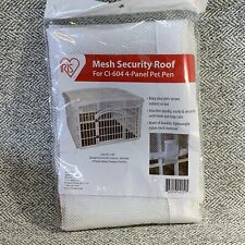 Mesh Security Roof For CI-604-4 Panel Pet Pen- NEW-By:Iris