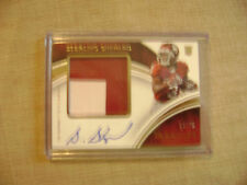 Sterling Shepard 2016 Immaculate Rc 2 Color Patch Auto 16/99 NY Giants Mint
