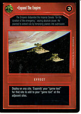 STAR WARS CCG REFLECTIONS VRF CARD EXPAND THE EMPIRE