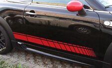 Bandes latérales Autocollant De Panneau Latéral pour BMW MINI COOPER S R56