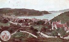 Vintage Postcard OBAN, ARGYLL & BUTE Aygyllshire 1906 Village Scene  (Ref: BBN)