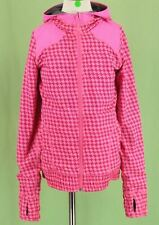 361 Ivivva Lululemon girl long sleeve jacket sweatshirt Reversible hoodie EUC 10