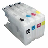 LC73 LC1240 Refillable Ink Cartridge for Brother DCP-J525W J725DW J925DW J435W