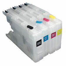 LC75 Refillable Ink Cartridge for Brother MFC-J430W J625DW J825DW J835DW Printer
