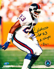 PERRY WILLIAMS SIGNED SB CHAMPS 86 8x10 NY GIANTS PHOTO w/MAB-CELEBRITY.COM COA