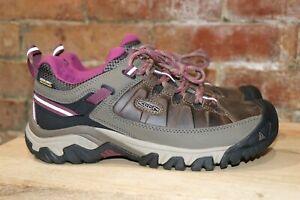 NEW! Keen Targhee III Womens Waterproof Hiking Shoe Weiss/Boysenberry Multi Size