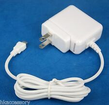 5V 2A AC Wall Charger US Plug WHITE for LG K10 X Power Cam Screen K8 K7 V10 G4