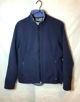 REI Women's Full Zip Soft Shell Fleece Jacket Warm Zip Pockets Size M Medium