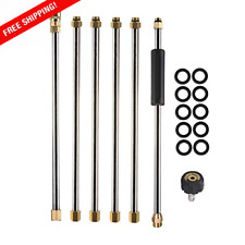 Pressure Washer Extension Wand 90inch Power Washer Lance14inch Quick Connect