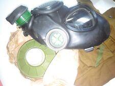 GAS MASK GP-7VM (PMK-1)black L drinking system (Mask,Filter,Bag),Russian Army