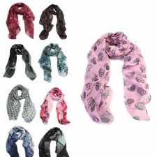 Scarf Chiffon Unbranded Floral Scarves & Shawls for Women