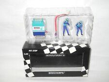 Sauber Petronas Pit Stop refueller set Formule 1 - 1/43 Minichamps - N°1