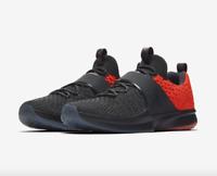Nike Air Jordan Trainer 2 Flyknit Size 12 Anthracite Grey Orange DS 921210 012