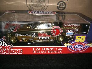 1/24 Racing Champions NHRA Gold Chrome Chase Funny Car 1 of 1000