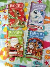 Rudolph The Red-Nosed Reindeer Hardcover Books Lot Set Of 4 Brand New