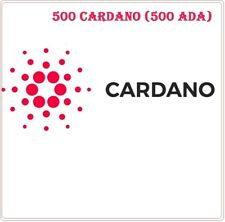 500 Cardano (ADA) CRYPTO MINING-CONTRACT (500 ADA)