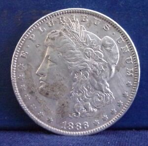 1886 $1 Morgan Silver Dollar   #552