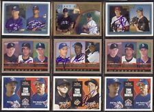 JOE LAWRENCE & PETE TUCCI - Toronto Blue Jays 1997 Topps DUAL SIGNED AUTOGRAPH