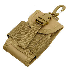 "4.5"" Tactical Molle Cell Phone Bag Case ID Card Holder Phone 600D Nylon Pouch"
