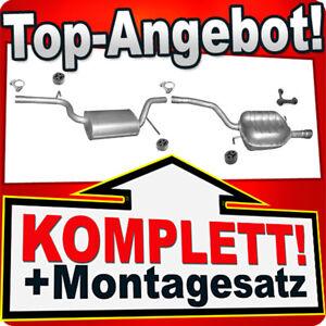 Auspuff VW PASSAT B6 1.6 FSi Stufenheck Variant Kombi Auspuffanlage L67