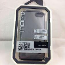 NEW! Incipio DualPRO Shine Shell Amazon Fire Case Aluminum Finish