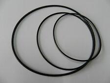 Tonband Riemen Set Grundig TK2400 Rubber drive belt kit