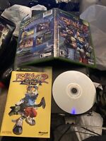 Original Xbox Blinx 2 Masters of Time & Space video game complete w/Manual 2004